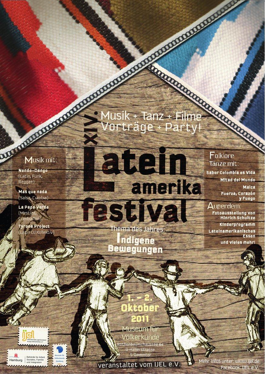 Plakat Lateinamerikafestival