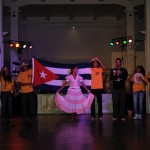 Die kubanische Austauschgruppe verabschieden sich