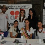 Ayudando con Miss Hamburg