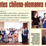 Mercurio: Estudiantes chileno-alemanes en Chile